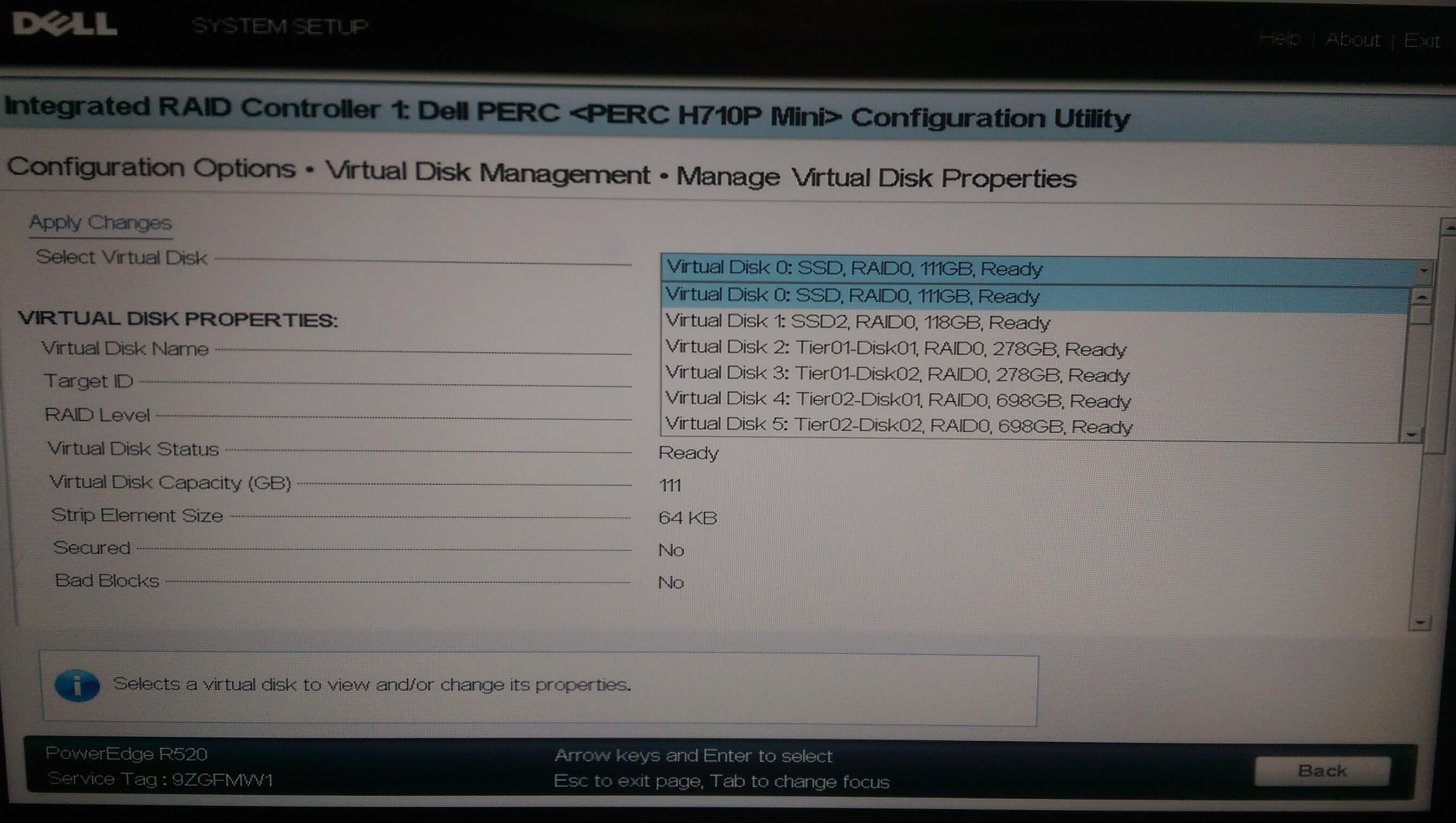 Dell Poweredge R730 Raid Configuration