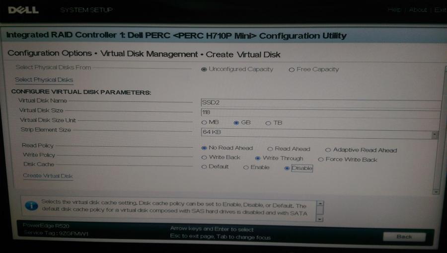H710P - RAID settings per VSAN Guide - 02