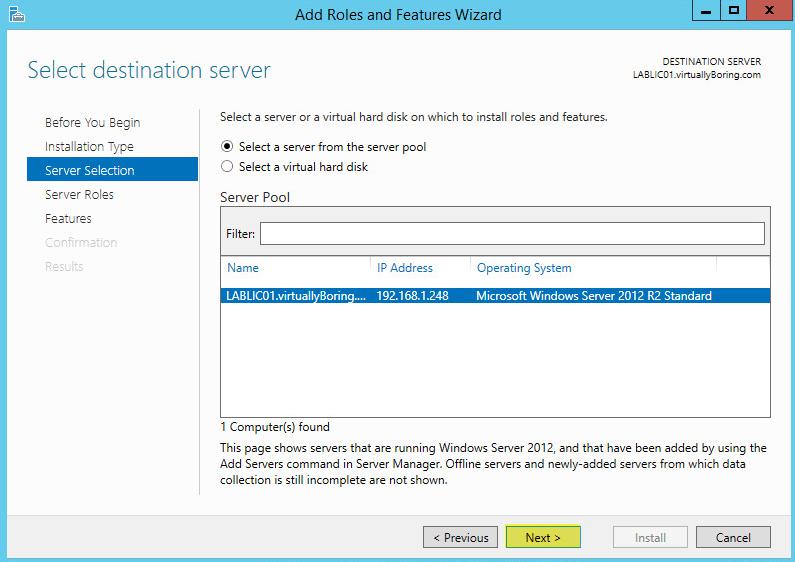 4 License Server - Server Selectio