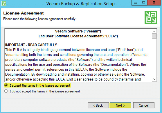Veeam Backup 4 - License Agreement