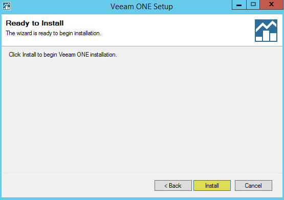 Veeam ONE 10 - Ready to Install
