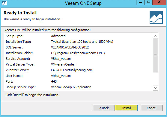 Veeam ONE 14 - Ready to Install