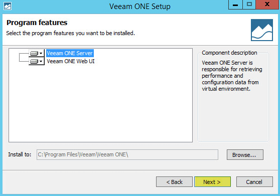 Veeam ONE 6 - Program Features
