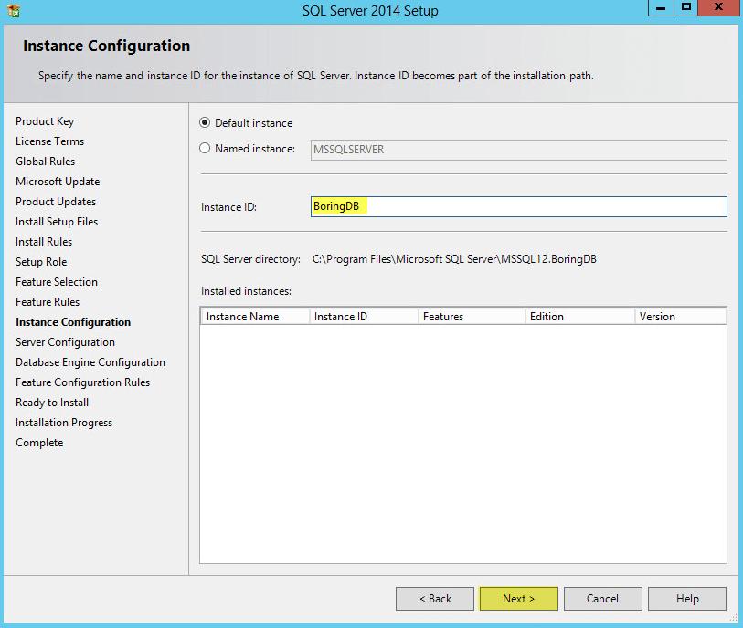 Deploying Microsoft Sql 2014 Standalone Server Virtuallyboring