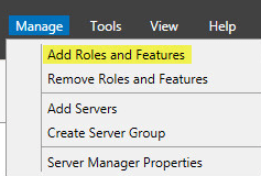 Microsoft Web Application Proxy 1 - Add Roles and Features