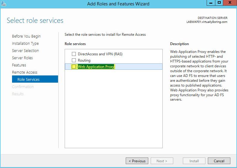 How to setup Microsoft Web Application Proxy - VirtuallyBoring