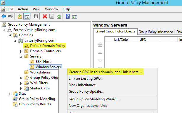 PKI 31 - Group Policy - Create GPO