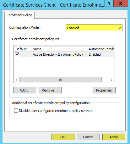 PKI 36 - Group Policy - Certificate Enrollment