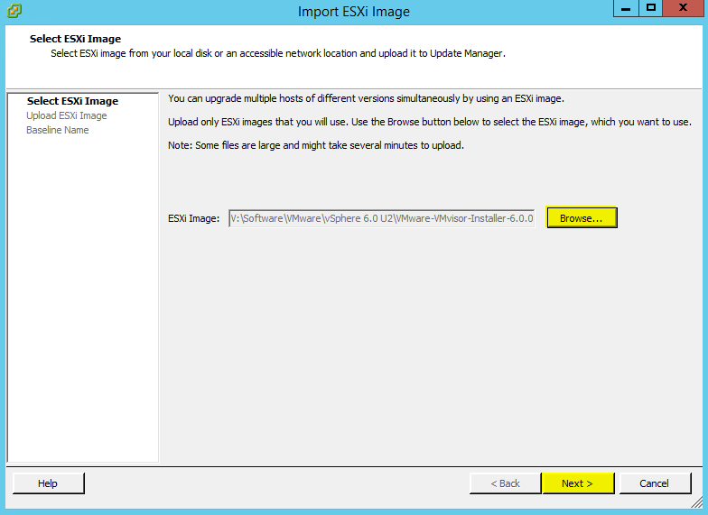 Deploying VMware Update Manager 6 0 Update 2 - VirtuallyBoring