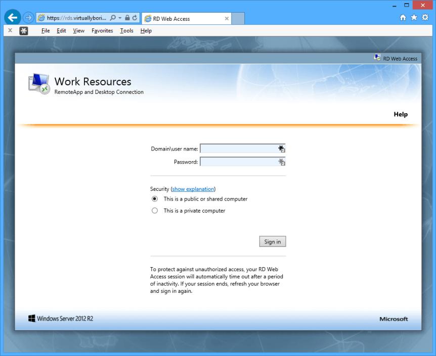 WAP - Confirmation