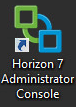Horizon View 12 - Horizon 7 Administrator Console Icon