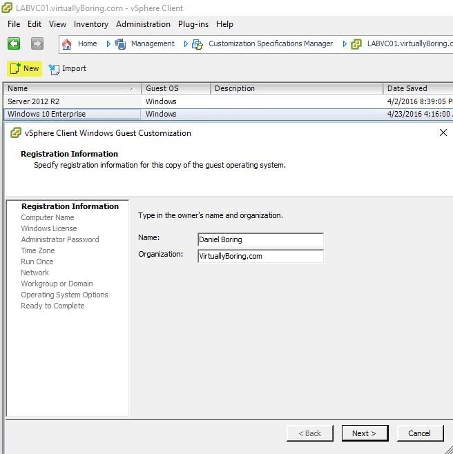 VMware Horizon View 7: Create Master Desktop Template [Part 6