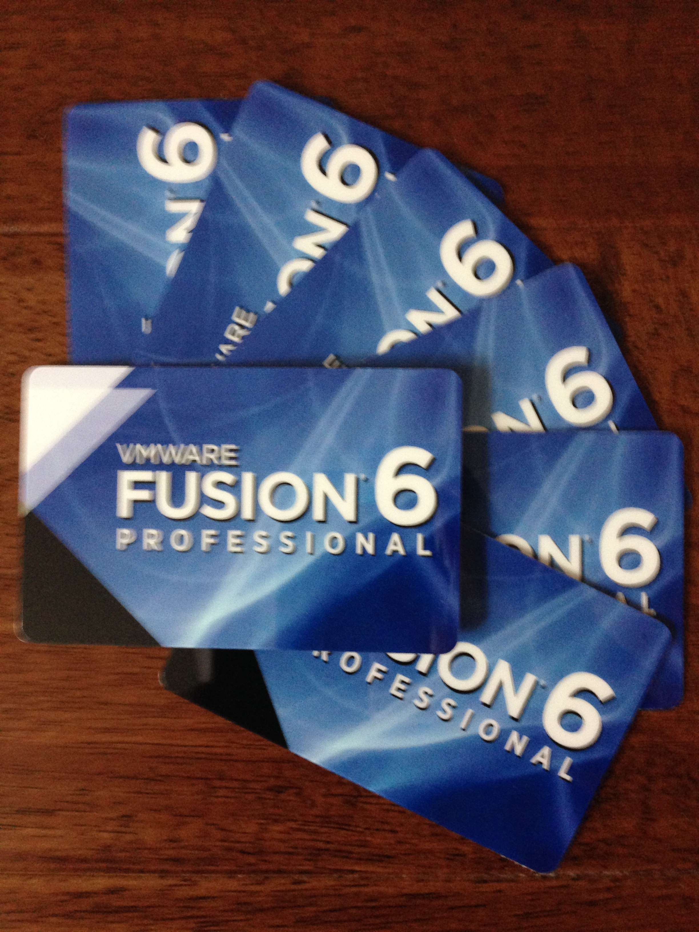 Want a free VMware Fusion 6 Professional License?