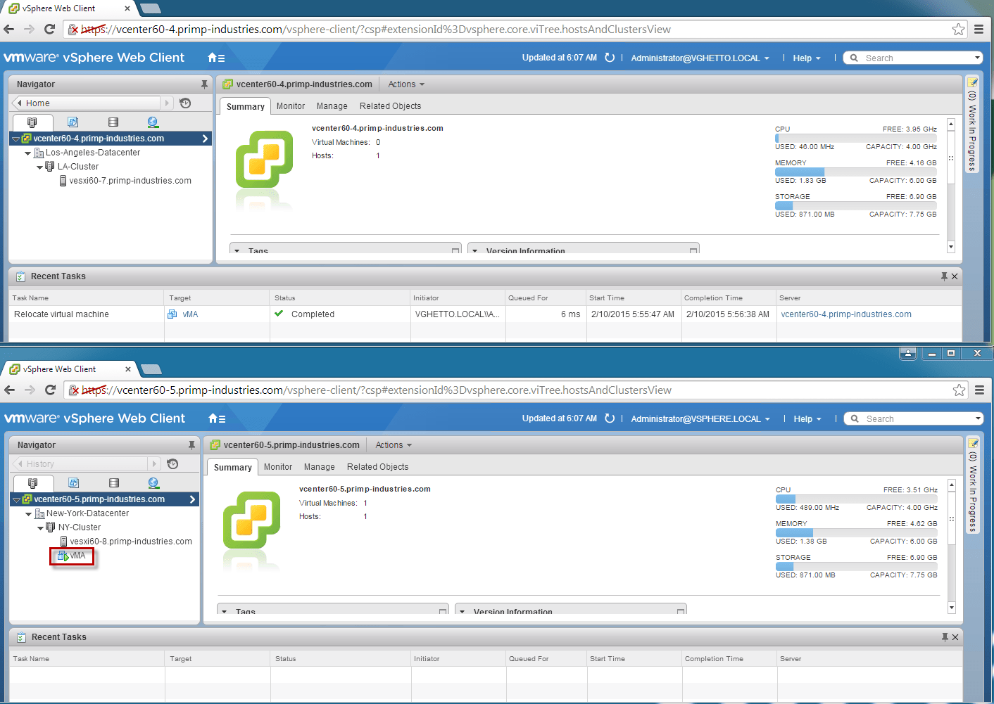 Did you know of an additional cool vMotion capability in vSphere 6 0?
