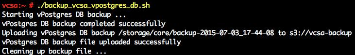 backup-vcsa-vpostgres-db-to-s3-1