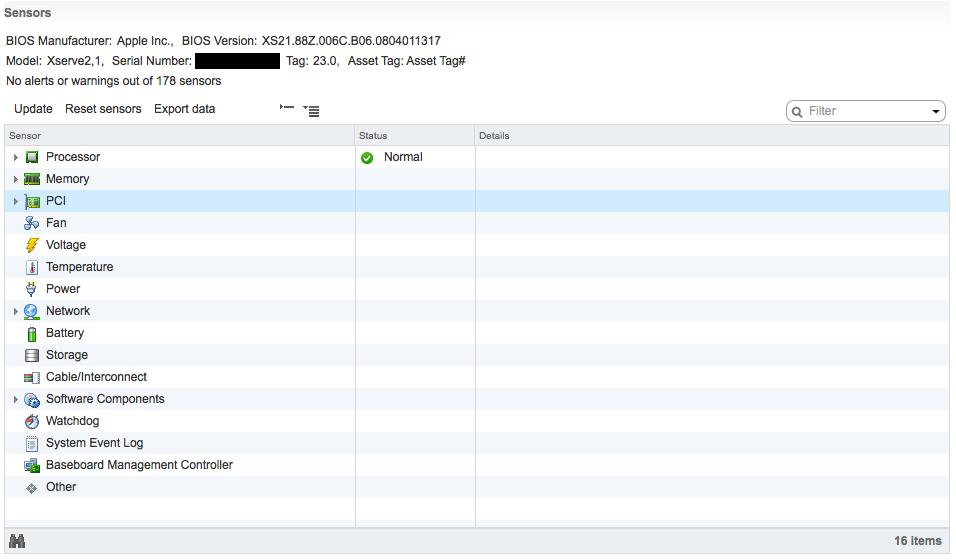 ESXi 6 0 on Apple Xserve 2,1