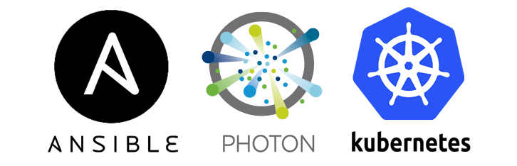 Using Ansible to provision a Kubernetes Cluster on VMware Photon