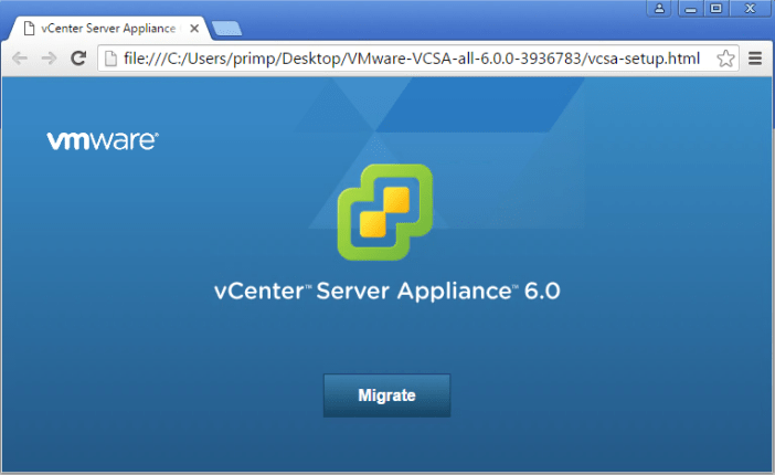 vcsa-migration-tool-vsphere-60update2m