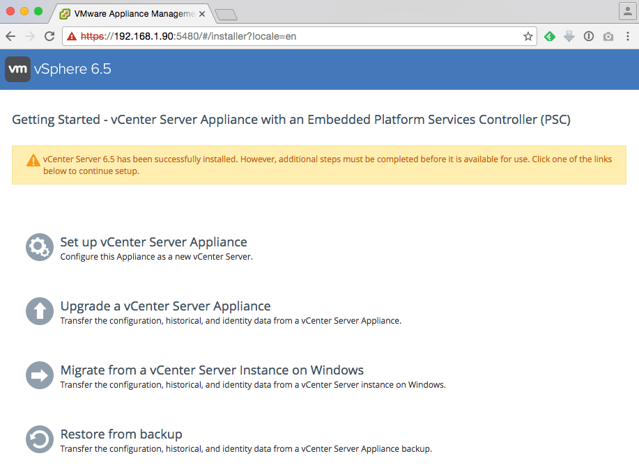 How to deploy the vCenter Server Appliance (VCSA) 6 5