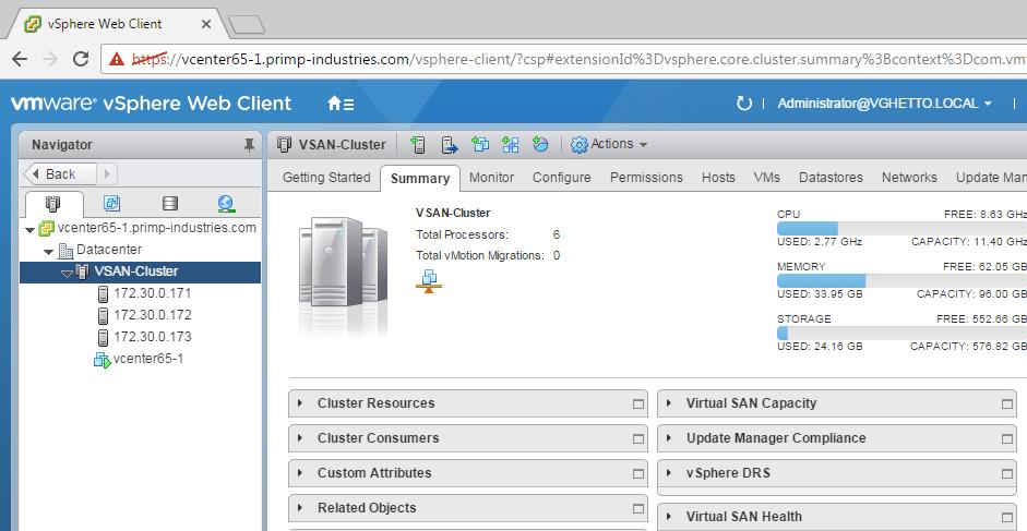 vGhetto Automated vSphere Lab Deployment for vSphere 6 0u2 & vSphere 6 5