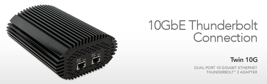 Thunderbolt to 10GbE Network Adapters for ESXi