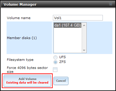 Configure iSCSI SAN using FreeNAS 8 2 - Virtually Impossible