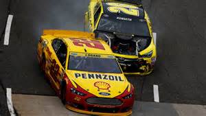 Revenge or parts failure? Either way, Logano probably got what was coming to him.