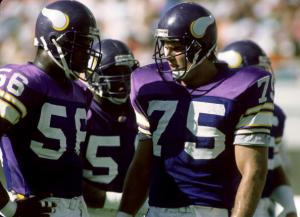 Minnesota Vikings 1980's - File Photos