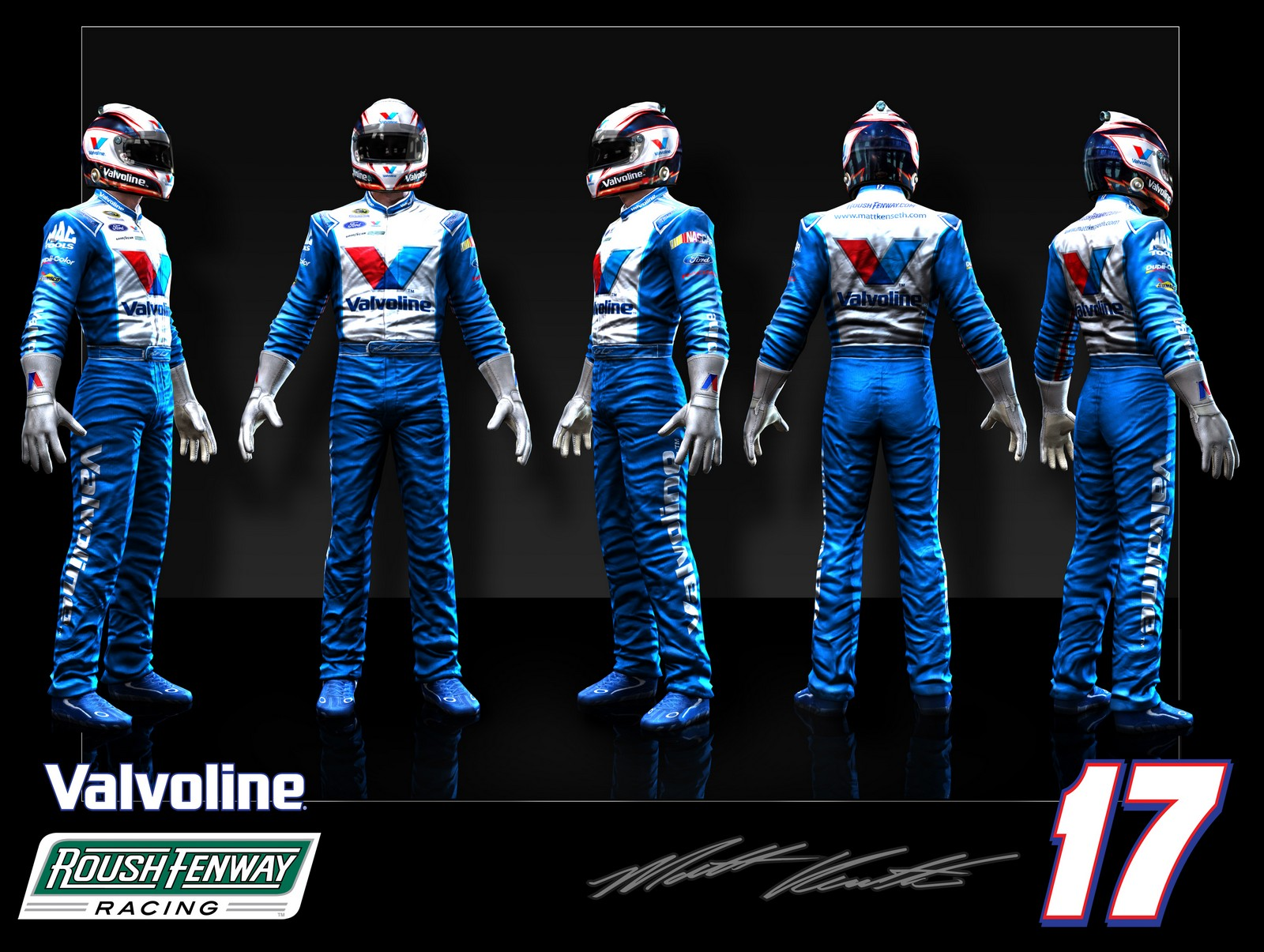 NASCAR The Game 2011 More Car Amp Driver Suit Renders
