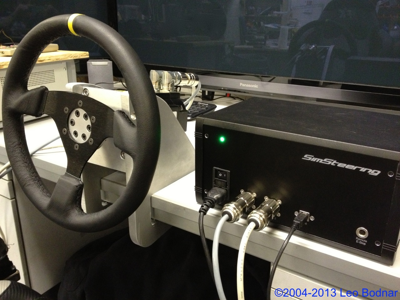 SimSteering Wheel By Leo Bodnar Released