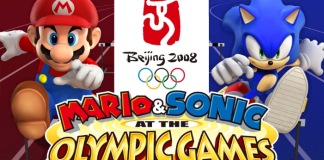 mario and sonic at the olympics