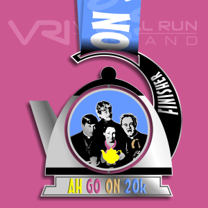 Father Ted 20K Virtual Run, virtual run ireland, virtual running ireland, virtual medal, virtual run ,virtual run, medal, race challenge, Father Ted, 20K