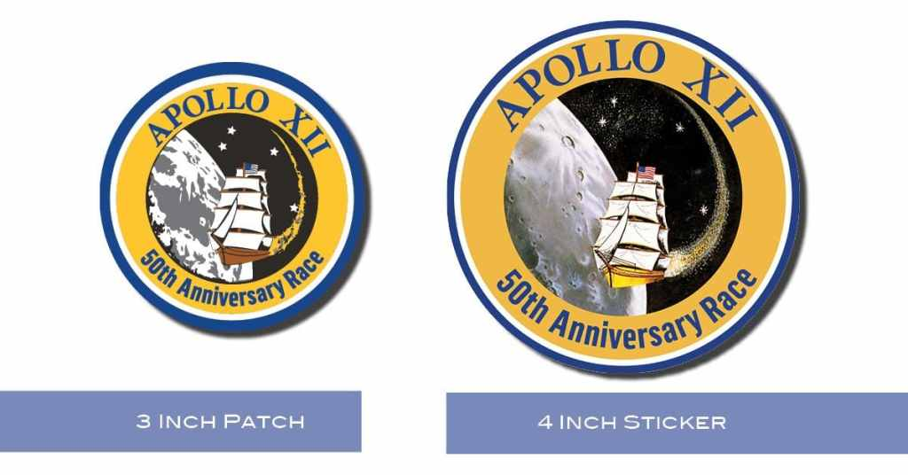Apollo 12 Sticker & Patch