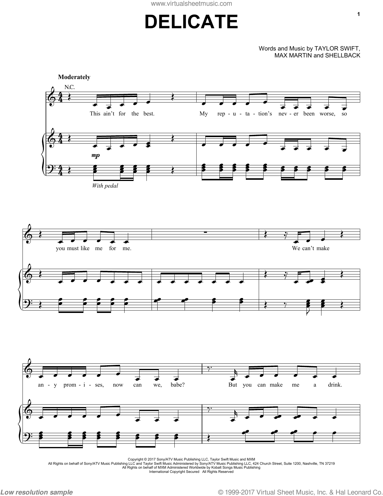 Guitar Notes For Songs Taylor Swift