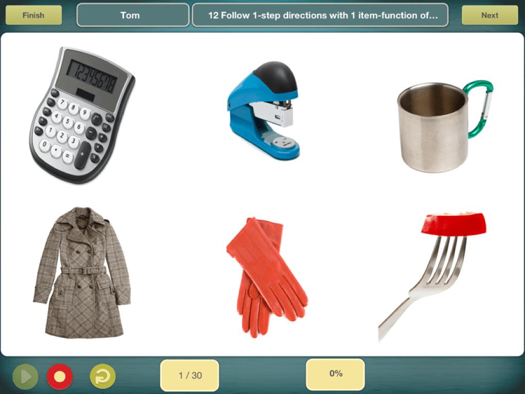 Comprehension Aphasia App