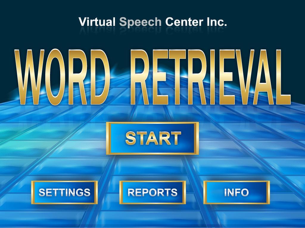 Word Retrieval App