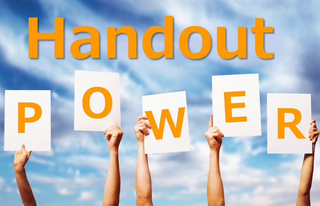 Image result for images of handouts