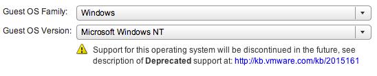 NT4 on ESXi 5.1