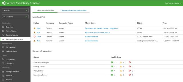 Veeam VAC series #4: Monitor a remote Veeam Backup server