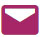 Donkerroze logo van e-mail