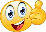 emoji duim omhoog