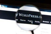 vergrootglas op woord WordPress
