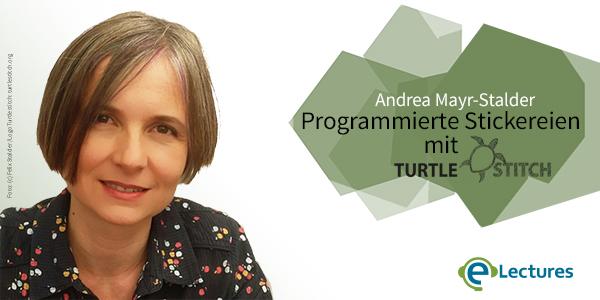 Bild: Lene Kieberl, Foto: (C) Felix Stalder. Logo: Turtlestitch.org