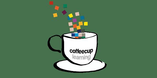 Bild: Logo Coffeecup learning by VPH/Lene Kieberl