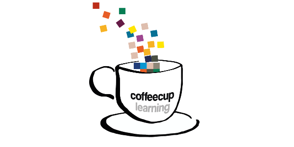 Bild: Logo Coffeecup learning by VPH/Lene Kieberl