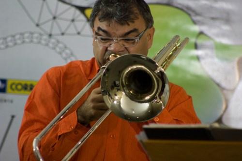 Radegundis durante o VI Virtuosi Brasil