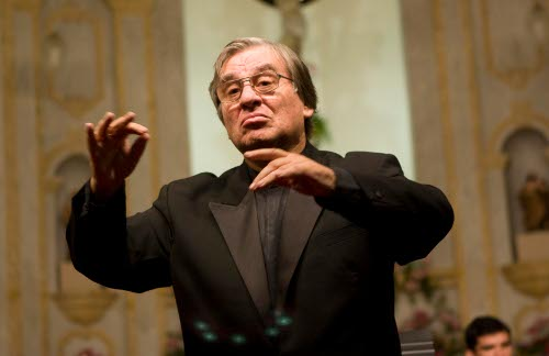 Maestro Rafael Garcia (Foto: Flora Pimentel)