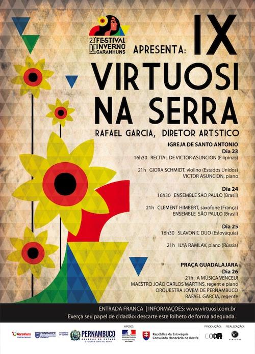Cartaz Virtuosi na Serra - site