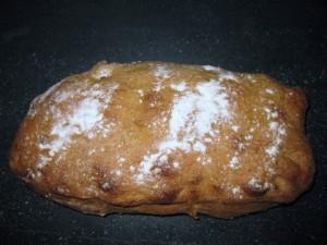 Wheat sourdough bread in a box 1