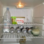 Paddy Ashdown's fridge